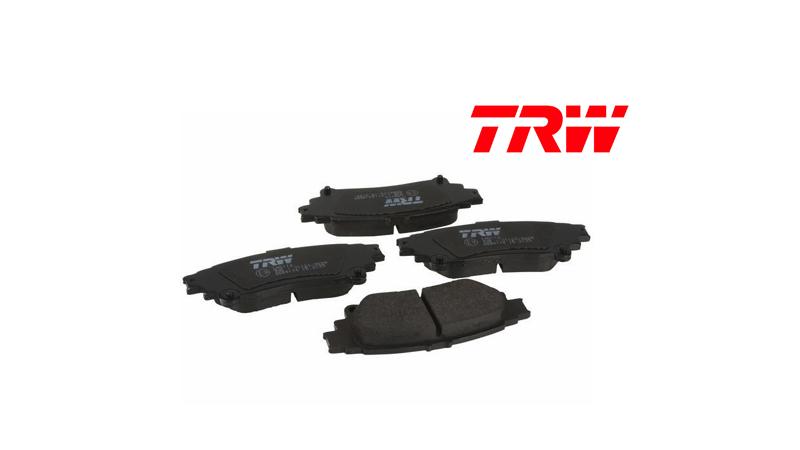 TRW – Plaquettes de freins